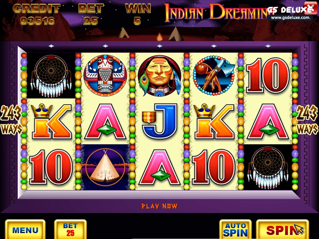 image of indian dreaming slots